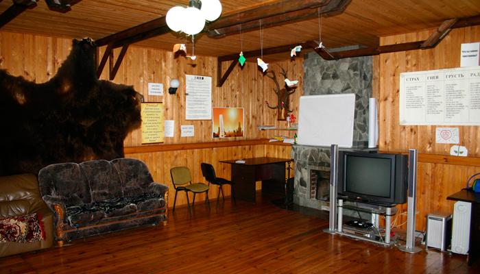 Зал для занятий в доме восстановления «Александровский»