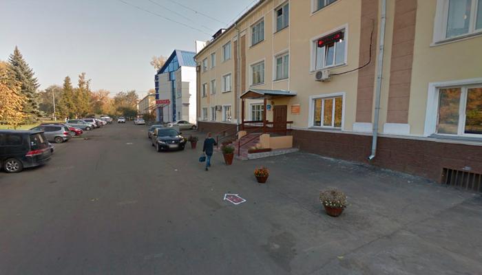 Расположение кабинета нарколога Салминой-Хвостовой