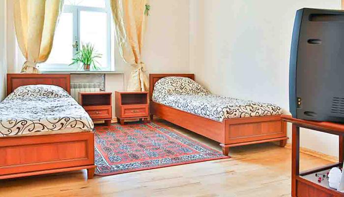 Спальня в Наркологическом центре «Добро» Киев