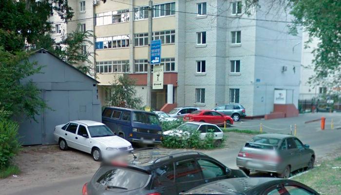 Расположение наркологического центра «Элпис» Воронеж