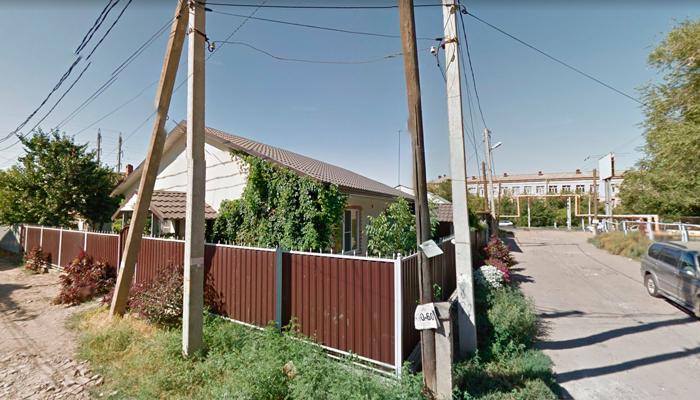 Здание наркологического центра в Астрахани