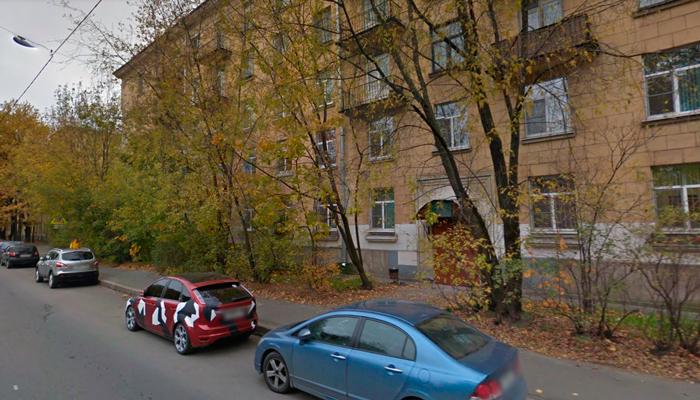 Здание наркологического реабилитационного центра №3 Санкт-Петербург