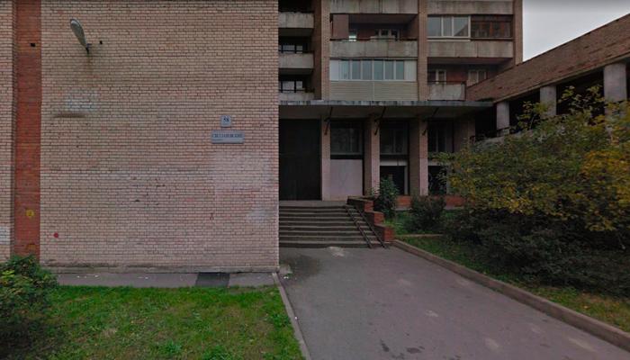 Расположение Наркологического реабилитационного центра №4 в Санкт-Петербурге