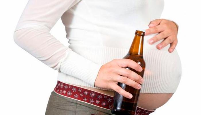 Пагубное воздействие алкоголя на плод