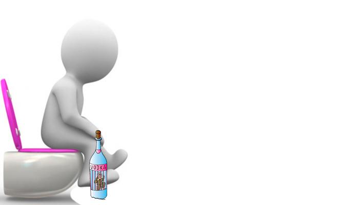 Диарея после принятия спиртного