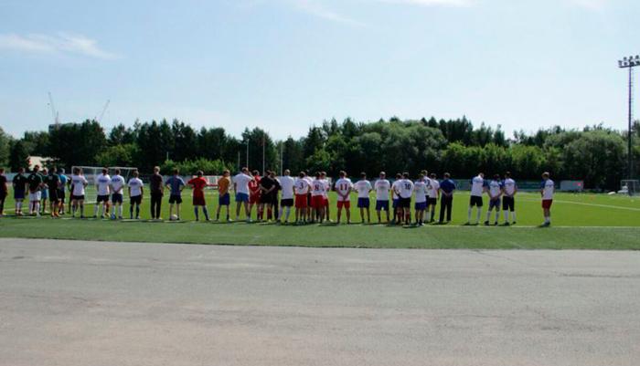 Футбольный турнир в реабилитационном центре «Единство» Барнаул