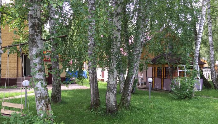 Территория реабилитационного центра «Единство» Барнаул