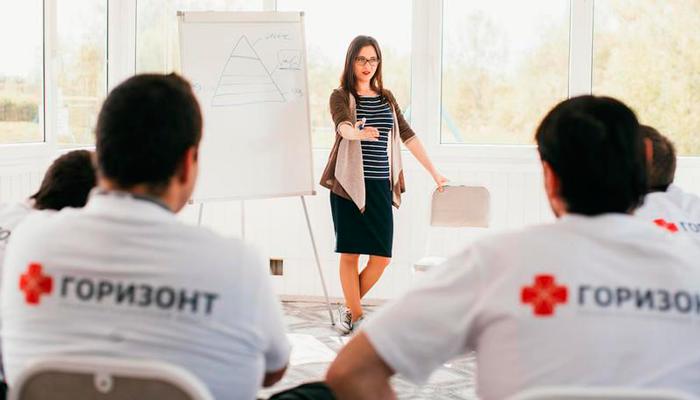 Лекция для постояльцев в реабилитационном центре «Горизонт» Астрахань