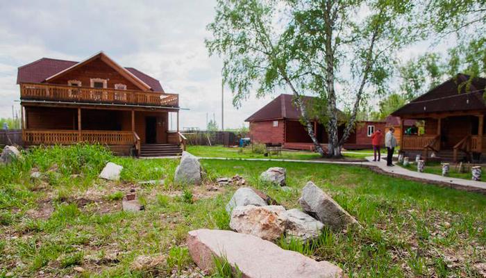 Территория реабилитационного центра «Горизонт» Астрахань