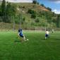 Игра постояльцев в футбол в реабилитационном центре «Начало» Астрахань