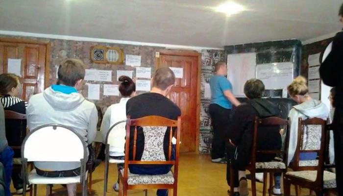 Лекция для постояльцев в реабилитационном центре «Начало» Астрахань