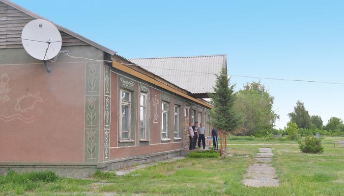 Здание реабилитационного центра «Олимп» Барнаул
