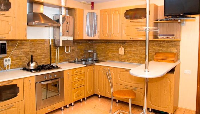 Кухня в реабилитационном центре «Просветление» Брянск