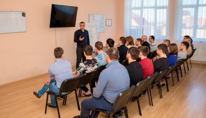 Лекция для постояльцев в реабилитационном центре «Решение» Великий Новгород