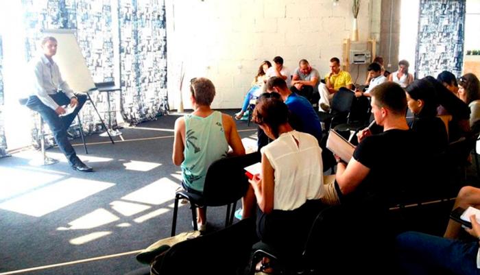 Лекция для постояльцев в реабилитационном центре «Решение» Брянск