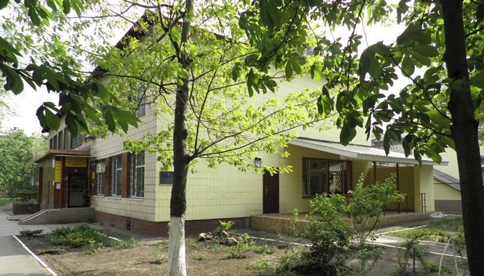 Здание реабилитационного центра «Ступени» Киев
