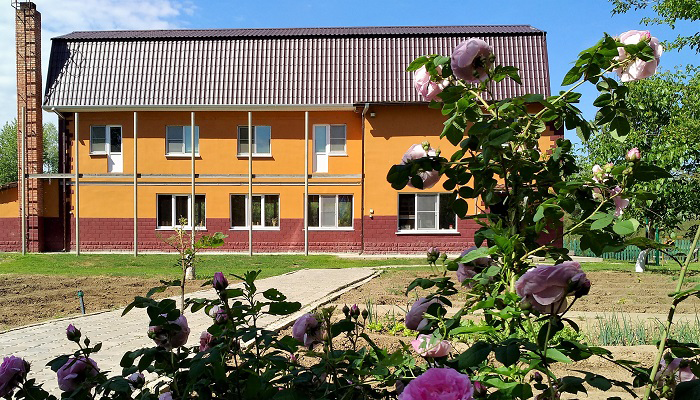 Здание реабилитационного центра «Жизнь» Астрахань