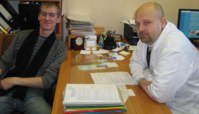 Прием пациента в Реабилитационном наркологическом центре №2 Санкт-Петербург