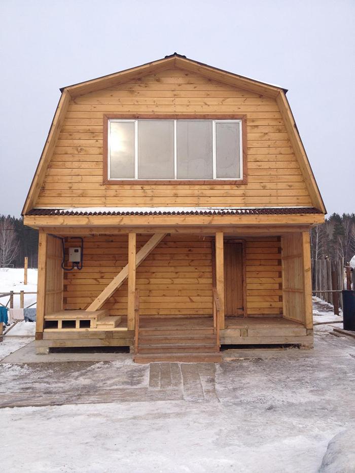 Дома для проживания резидентов центра Луч