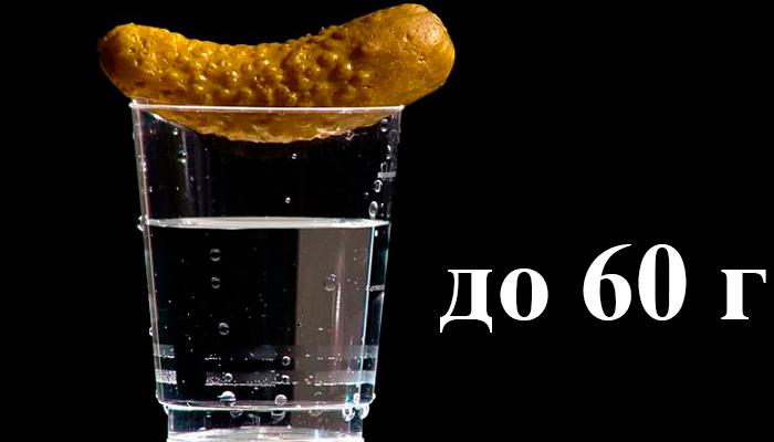 Ограничение на прием водки при сахарном диабете - до 60 грамм