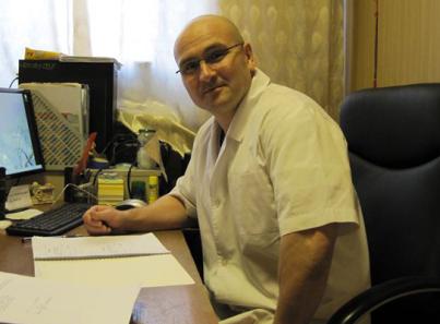 Заведующий Государственного наркологического диспансера «Феникс» Колесник Евгений Владимирович