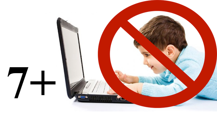 Запрет на виртуальные игры детям дошкольного возраста