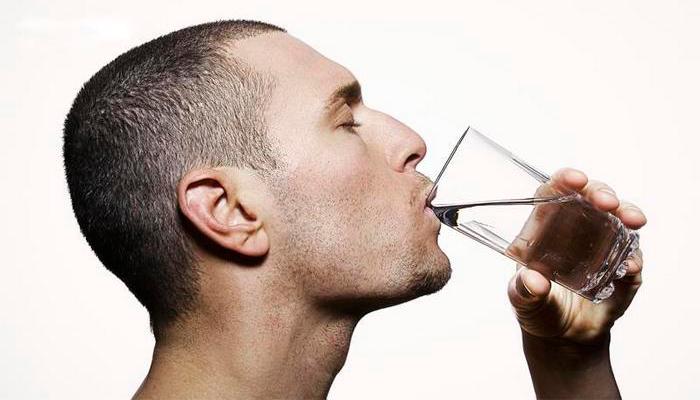 Жажда после сильного опьянение