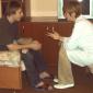 Общение с психотерапевтом в Кемеровском областном клиническом наркологическом диспансере