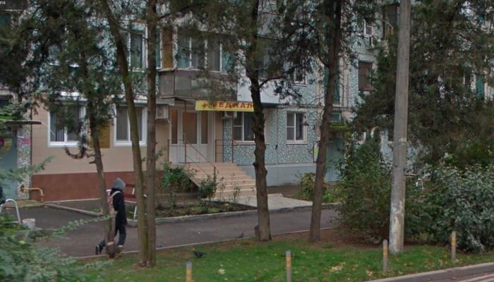 Расположение наркологического центра «Медиал» (Краснодар)