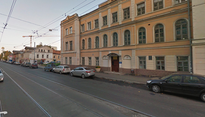 Здание Нижегородского областного наркологического диспансера
