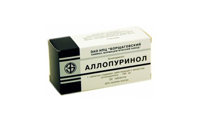 Аллопуринол для очистки почек от токсинов