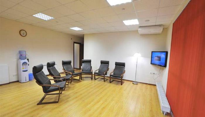 Зал для занятий в реабилитационном центре «Ковчег» (Краснодар)