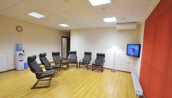 Зал для занятий в реабилитационном центре «Ковчег» (Волгоград)