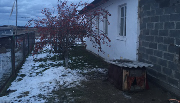 Двор реабилитационного центра «Лабиринт» (Красноярск)