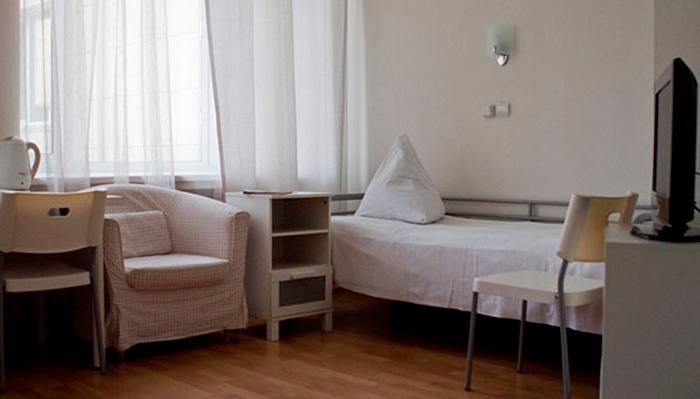Номер для проживания постояльцев в реабилитационном центре «Первый шаг» (Брянск)