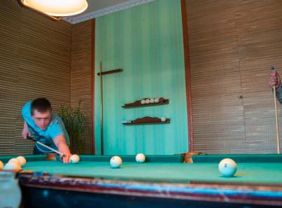 Досуг постояльцев в реабилитационном центре «Развитие» (Санкт-Петербург)