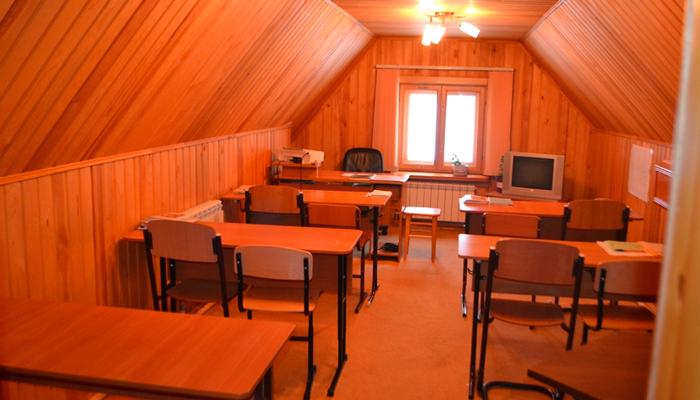 Аудитория для занятий в реабилитационном центре «Здоровая нация» (Красноярск)