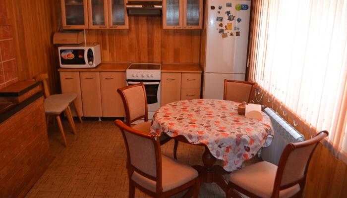 Кухня в реабилитационном центре «Здоровая нация» (Красноярск)