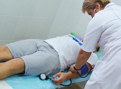Прием больного в реабилитационном наркологическом центре «Грааль» (Краснодар)