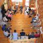 Групповые занятия постояльцев в реабилитационном наркологическом центре «Согласие» (Уфа)