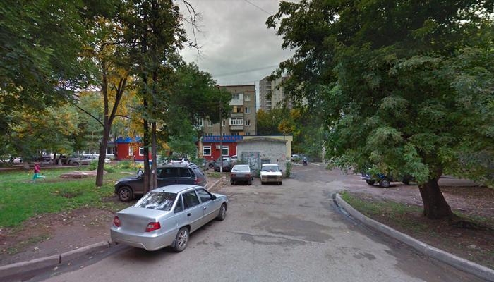 Расположение главного офиса реабилитационного наркологического центра «Согласие» (Уфа)