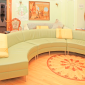 Гостиная в реабилитационном центре «Решение» (Барнаул)