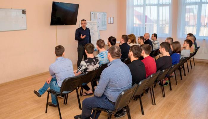Лекция для постояльцев в реабилитационном центре «Решение» (Барнаул)