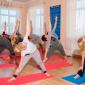 Спортивные занятия постояльцев в реабилитационном центре «Решение» (Барнаул)