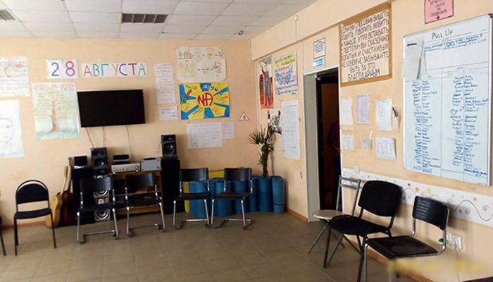 Зал для занятий постояльцев в реабилитационном центре «Олимп» (Киров)