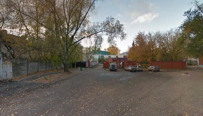 Расположение Республиканского наркологического диспансера (Казань)