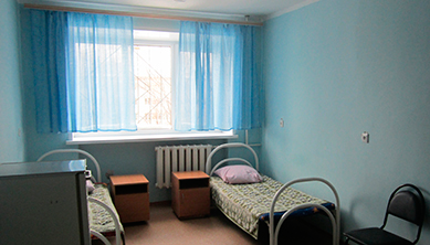 Палата в Тольяттинском наркологическом диспансере