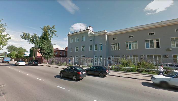 Здание Тульского областного наркологического диспансера №1