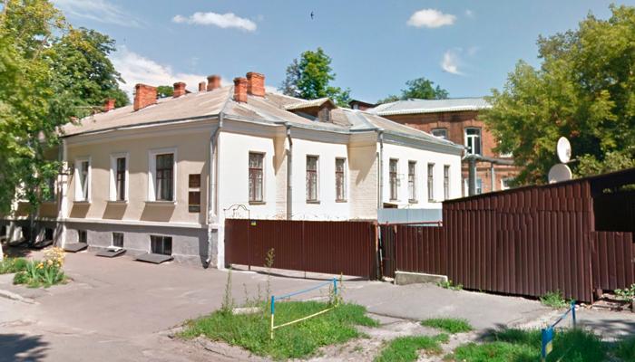 Расположение наркологического кабинета врача-нарколога Лобанова в Полтаве