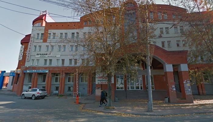 Расположение кабинета психокоррекции Игоря Украинцева в Томске